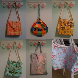 Bags collage